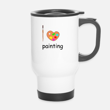 Painting painting - Travel Mug