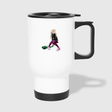 Manga Girl - Travel Mug
