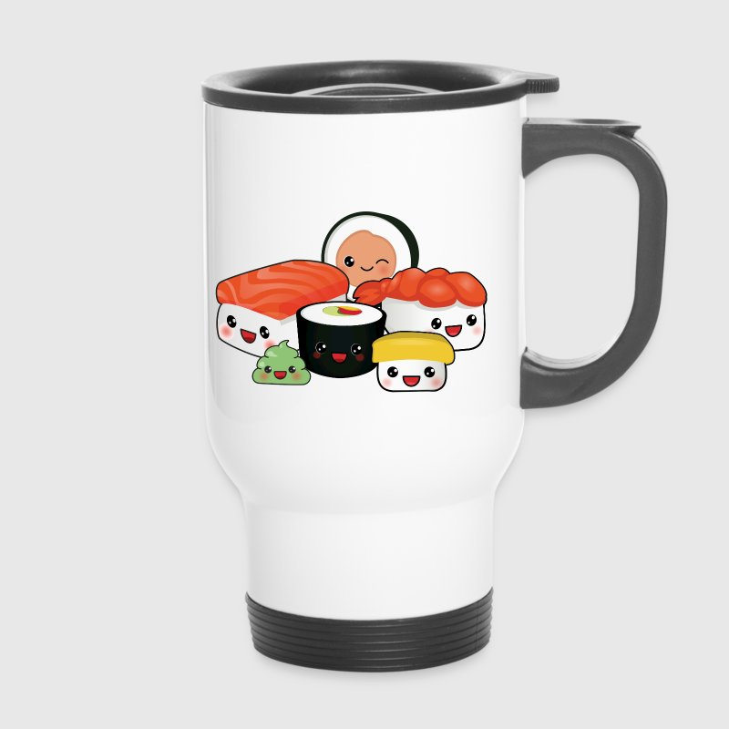 happy Sushi Family - Thermobecher