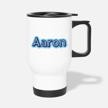 First Name Aaron name first name - Travel Mug