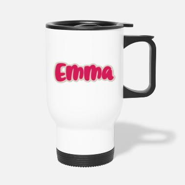 First Name Emma name first name - Travel Mug