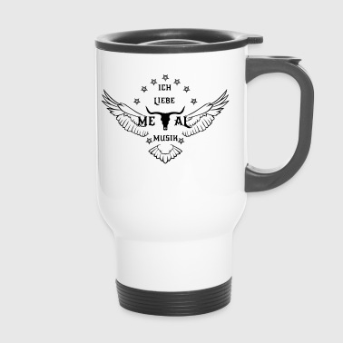 METAL MUSIC - Travel Mug