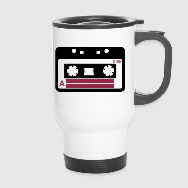 Kassette, Tape, Retro Tape - Mug thermos