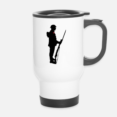 Remembrance Remembrance Day Soldier WW1 - Travel Mug