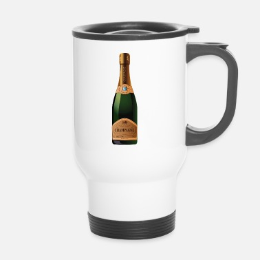 Champagner Champagner Champagne - Thermobecher