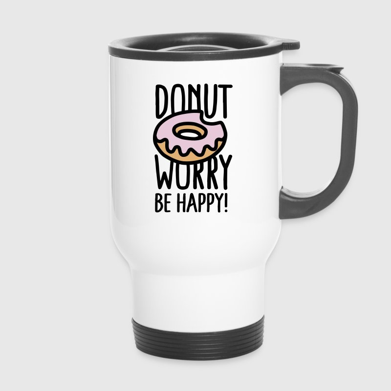 Donut worry, be happy! - Thermo mok