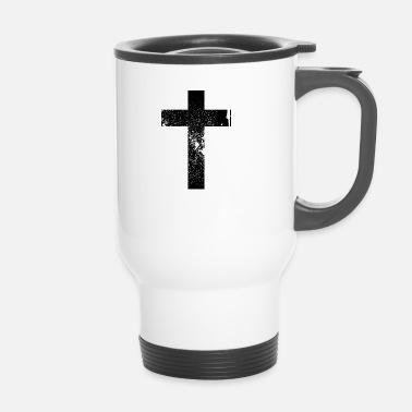5f6713933c77 Mugs et récipients Croix à commander en ligne   Spreadshirt