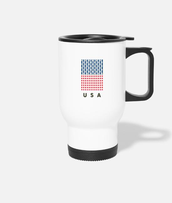 New York City Mugs & Drinkware - USA - Travel Mug white