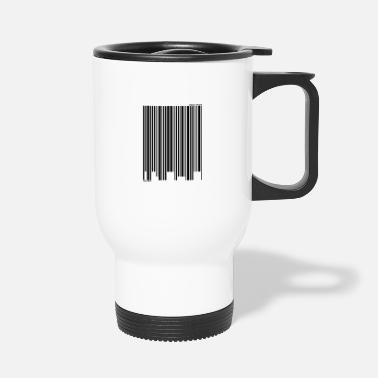 Checkout Barcode - checkout! - Travel Mug