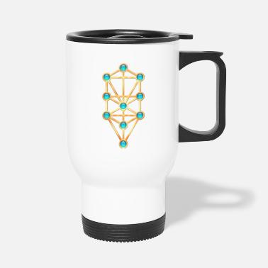 Kabbalah Sephiroth, Kabbalah, Tree of Life, Creation - Travel Mug