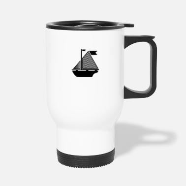 Illustration Illustration bateau - Mug isotherme
