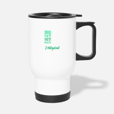 Volley volley-ball Volley-ball cadeau - Mug isotherme