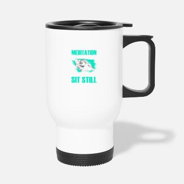 Superbike Superbike meditation Motorcycle Superbike - Travel Mug