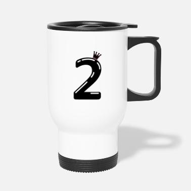 Back To School 2 crown - Travel Mug