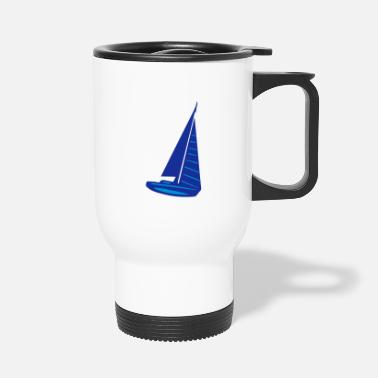 Sail Boat sailing boat - Travel Mug