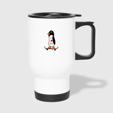 skater skateboard boarder skateboarding3 - Travel Mug