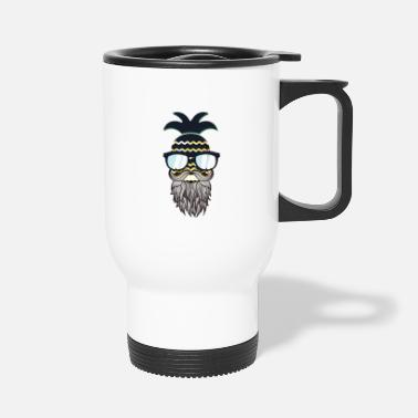 Glass Underwear Funny perfect hipster pineapple - Travel Mug