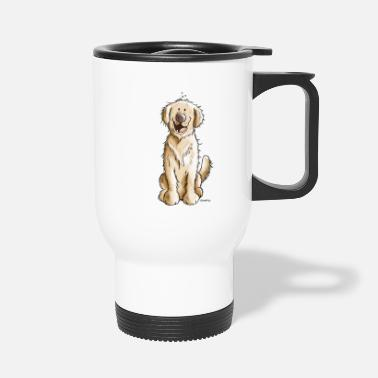 Golden Retriever Goldiger Golden Retriever - Thermobecher