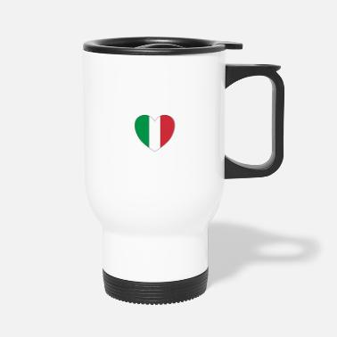 Italian Italian heart - Travel Mug