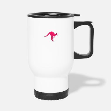 Vers Le Bas Kangourou Australie Down Under - Mug isotherme