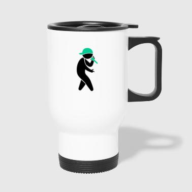 Hiphop Rapper - Travel Mug