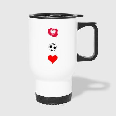 Polish football - Travel Mug