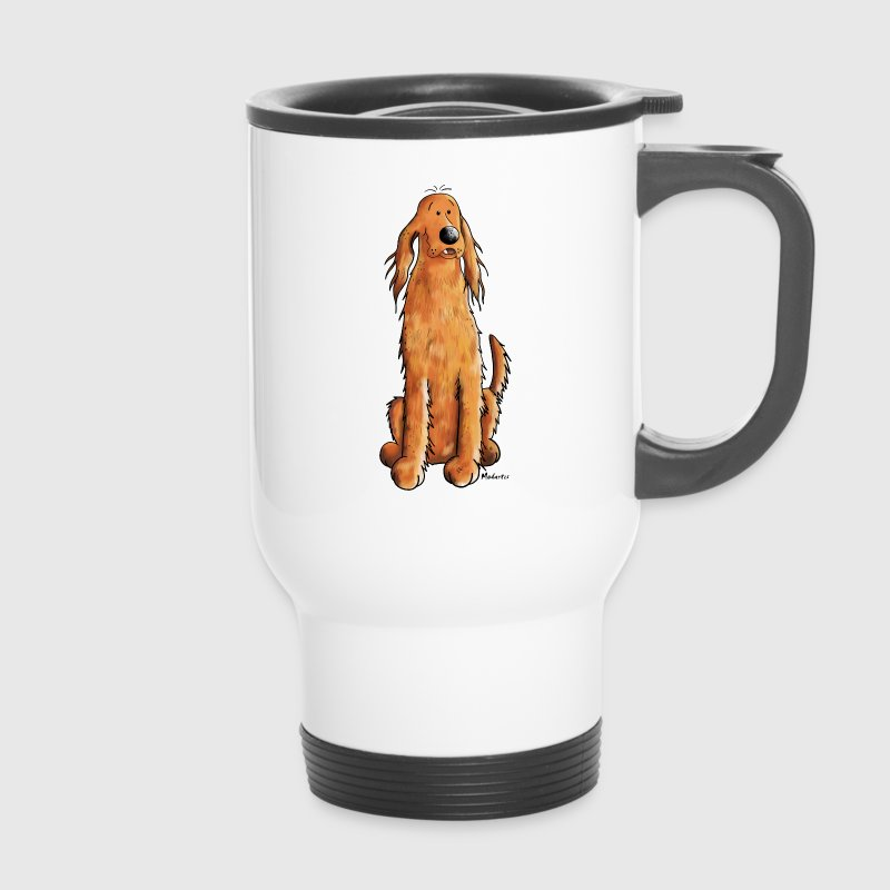 Funny Irish Setter - Thermobecher