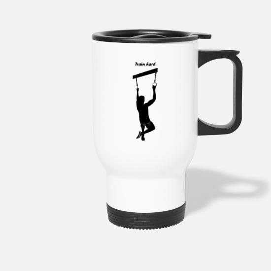Sports Mugs & Drinkware - training - Travel Mug white