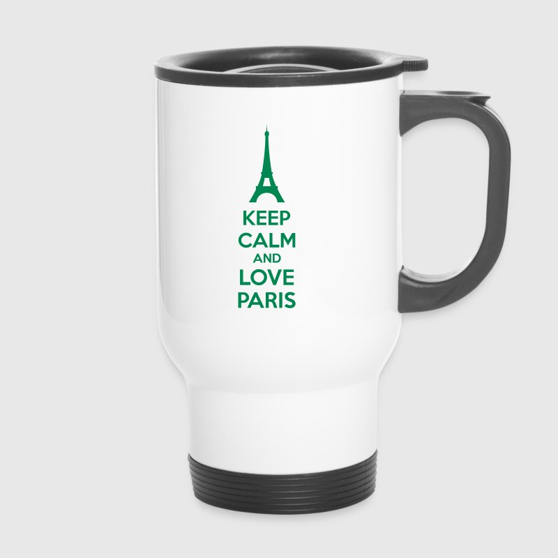 Keep Calm And Love Paris - Mug thermos