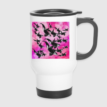Orcas pink - Thermobecher