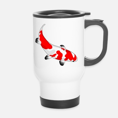 Koi Beautiful Koi. gift idea - Travel Mug