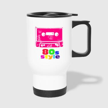 Cassette 80s music gift pop - Travel Mug