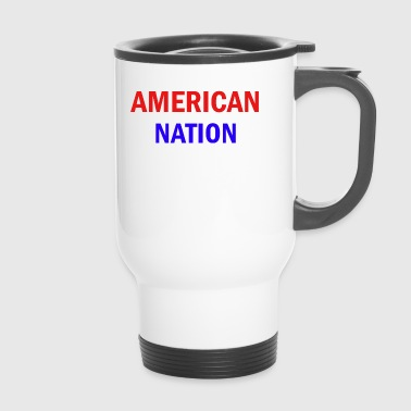 National American nation - Travel Mug