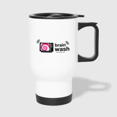 Brainwashed by television - Travel Mug