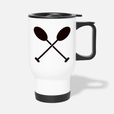 Oars Paddle oars - Travel Mug