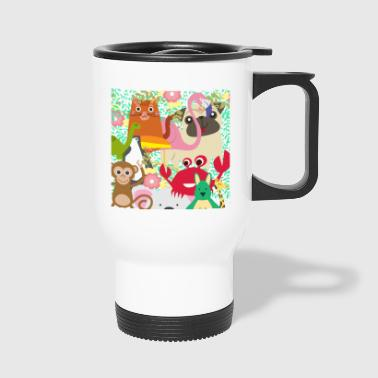 fauna colorida! - Taza termo