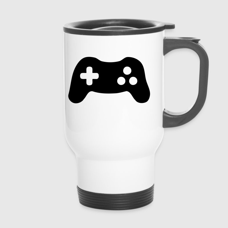Gamepad, Controller, Gamer - Thermobecher