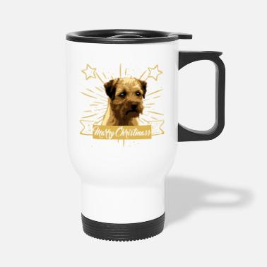 Border Terrier - Thermobecher