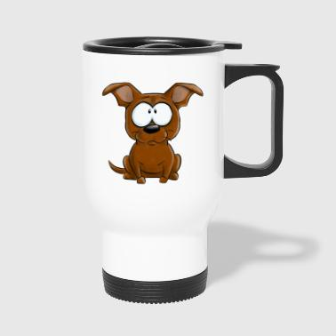 Je Suis Staffie Rouge - Mug thermos
