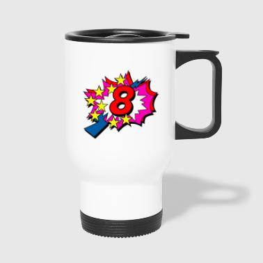 POP Star 8 - Travel Mug