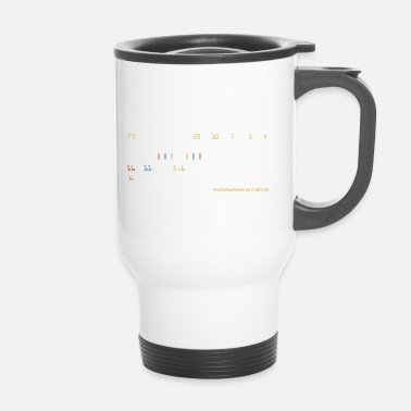 Sharp sharpness - Travel Mug