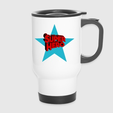 Superhero superheroes - Travel Mug