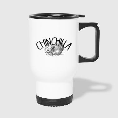 Chinchilla chemise animal animal de compagnie - Mug thermos