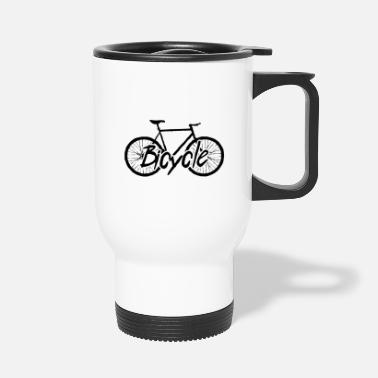 Bicycle Tour Bicycle Cycling Bicycle Tour Bicycle - Travel Mug