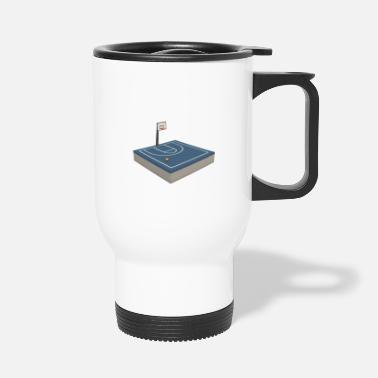 Court Basketball court - Travel Mug