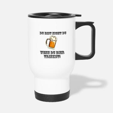 You You are not you - Travel Mug