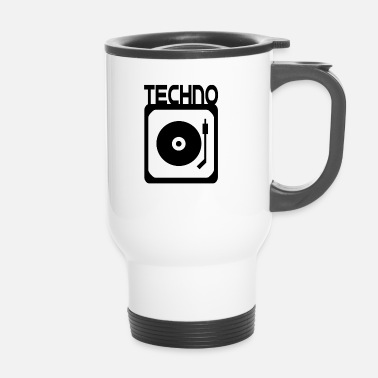 Turntable Record Magic vinyl DJ Techno Turntable - Taza termo