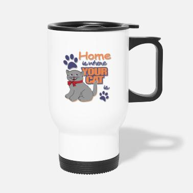 Animal De Compagnie chat animal de compagnie chat animal de compagnie - Mug isotherme