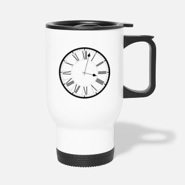 Clock Clock / Clock - Travel Mug