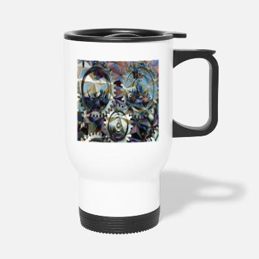 Structure GearGears in structure, gears in structure. - Travel Mug